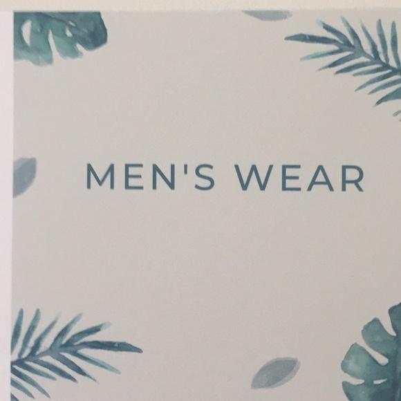 Other - Men's Wear Sign